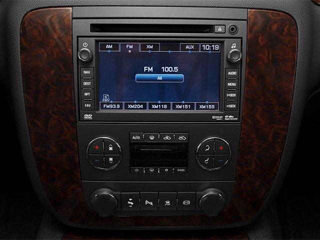 2013 GMC Sierra 2500HD Prices and Values Crew Cab Denali 4WD stereo system