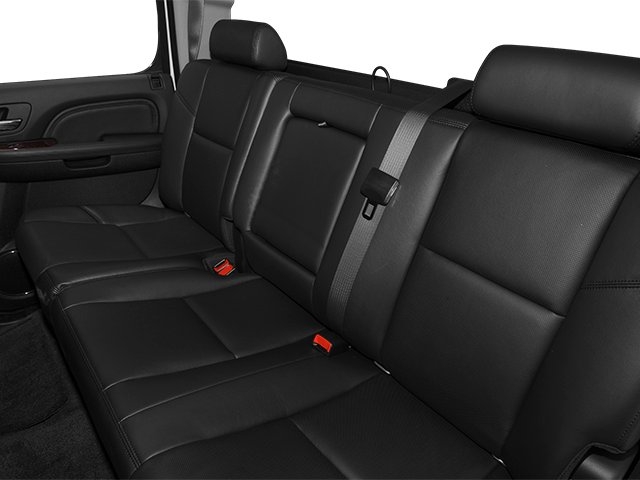 2013 GMC Sierra 2500HD Prices and Values Crew Cab Denali 4WD backseat interior