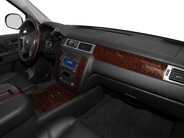 2013 GMC Sierra 2500HD Prices and Values Crew Cab Denali 4WD passenger's dashboard