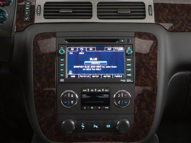 2013 GMC Sierra 3500HD Prices and Values Crew Cab SLE 2WD center console