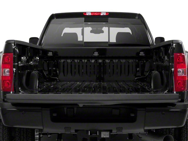 2013 GMC Sierra 3500HD Prices and Values Crew Cab SLE 2WD open trunk