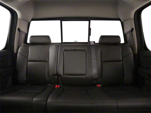 2013 GMC Sierra 3500HD Prices and Values Crew Cab SLE 2WD backseat interior