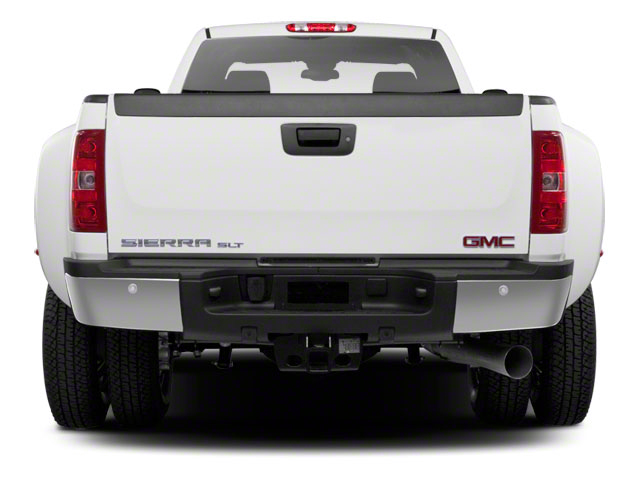 2013 GMC Sierra 3500HD Pictures Sierra 3500HD Extended Cab SLT 2WD photos rear view