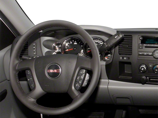2013 GMC Sierra 3500HD Prices and Values Regular Cab SLE 2WD driver's dashboard