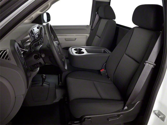 2013 GMC Sierra 3500HD Prices and Values Regular Cab SLE 2WD front seat interior