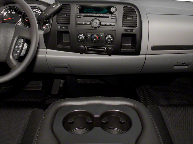 2013 GMC Sierra 3500HD Prices and Values Regular Cab SLE 2WD center console
