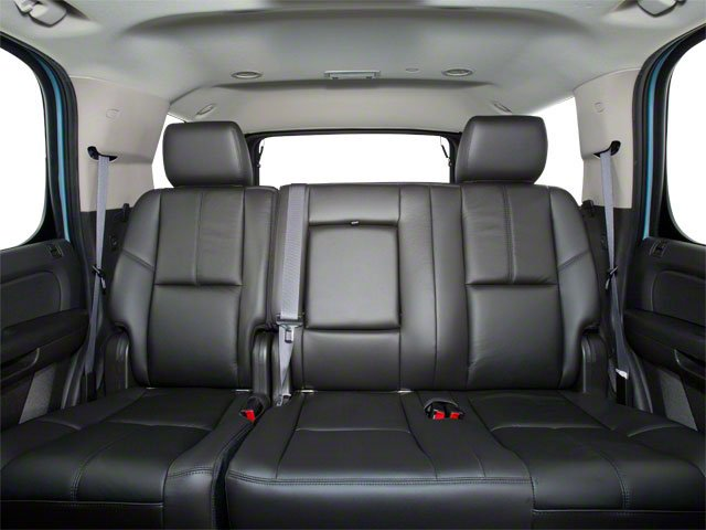 2013 GMC Yukon Hybrid Prices and Values Utility 4D Hybrid 2WD backseat interior