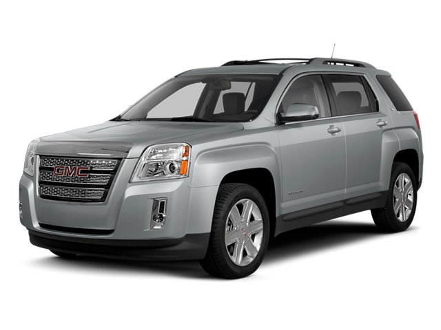 2013 GMC Terrain Prices and Values Utility 4D SLT2 2WD side front view