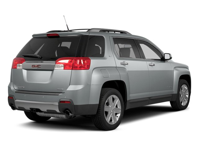 2013 GMC Terrain Prices and Values Utility 4D SLT2 AWD side rear view