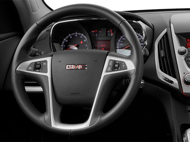 2013 GMC Terrain Prices and Values Utility 4D SLT2 AWD driver's dashboard