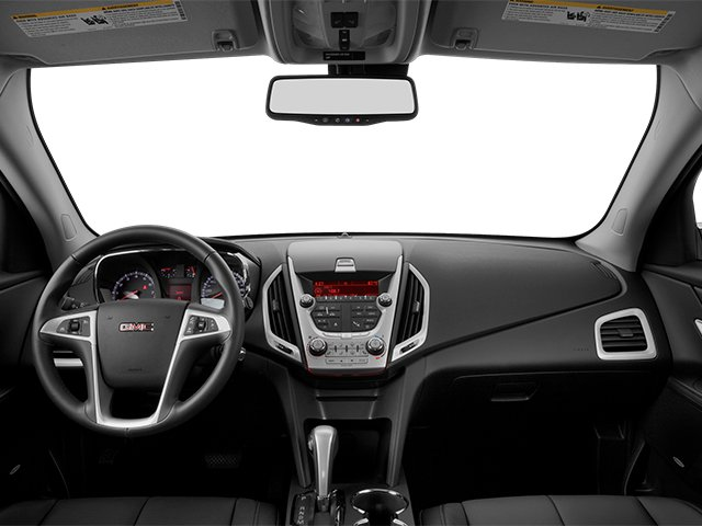 2013 GMC Terrain Prices and Values Utility 4D SLT2 AWD full dashboard