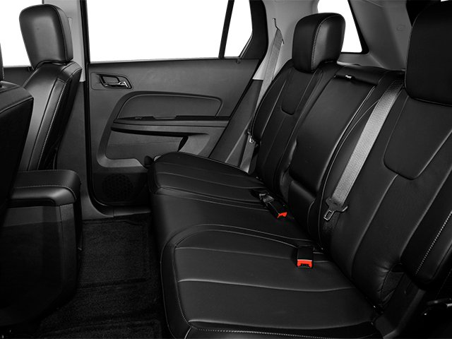 2013 GMC Terrain Prices and Values Utility 4D SLT2 AWD backseat interior