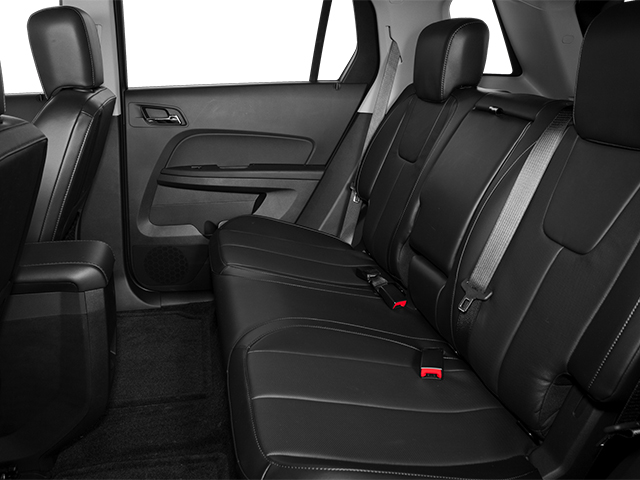 2013 GMC Terrain Prices and Values Utility 4D SLT2 2WD backseat interior