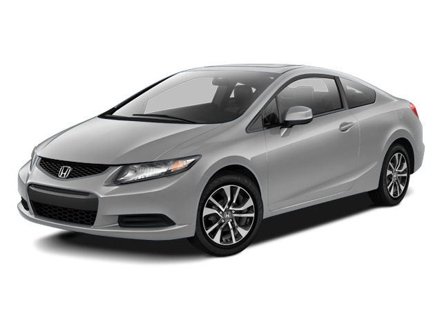2013 Honda Civic Cpe Prices And Values Coupe 2D EX I4 Side Front View