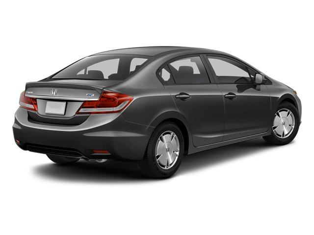 2013 Honda Civic Sdn Prices and Values Sedan 4D HF I4 side rear view