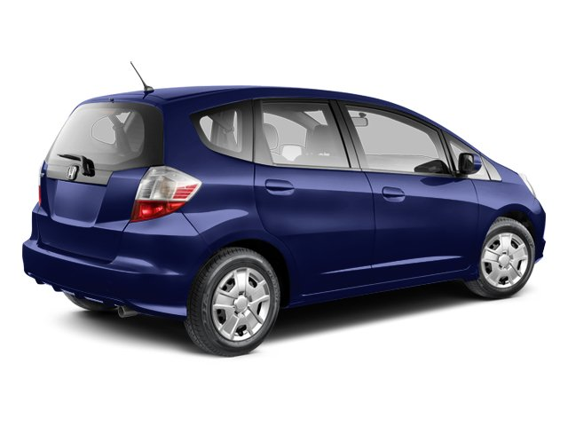 2013 Honda Fit Prices And Values Hatchback 5D I4 Side Rear View