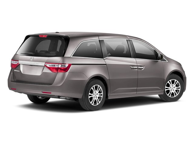 2013 Honda Odyssey Prices And Values Wagon 5D EX L V6 Side Rear View
