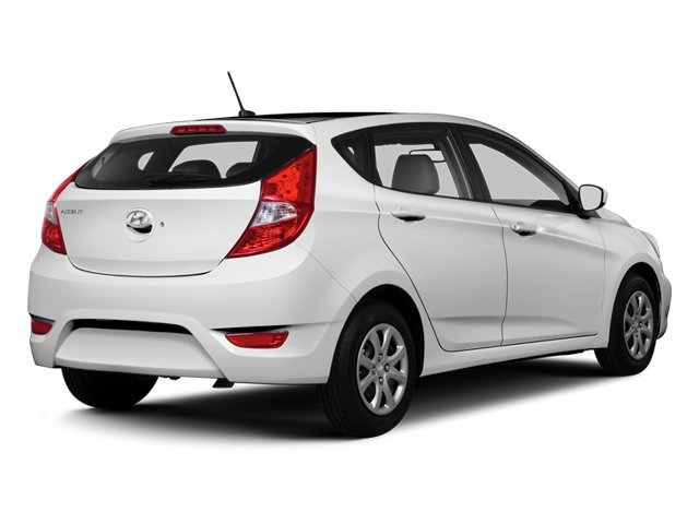 2013 Hyundai Accent Prices and Values Hatchback 5D SE side rear view