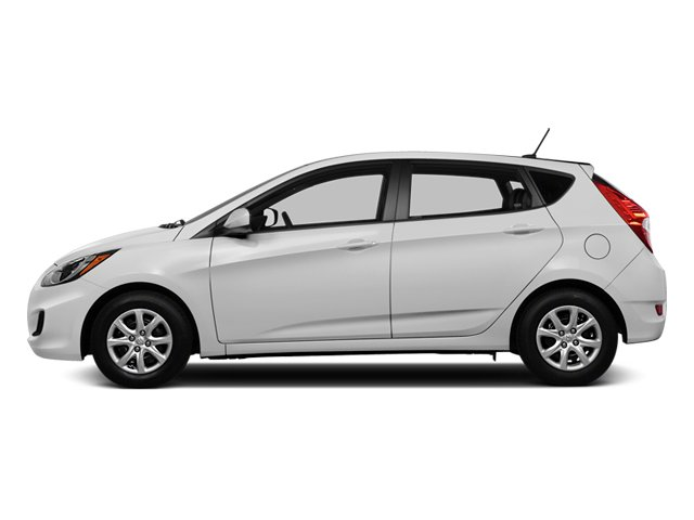 2013 Hyundai Accent Prices and Values Hatchback 5D SE side view
