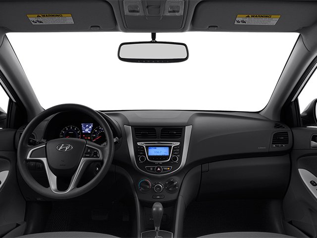 2013 Hyundai Accent Prices and Values Hatchback 5D SE full dashboard