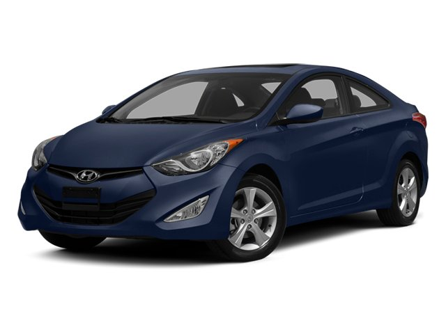 2013 Hyundai Elantra Coupe Prices and Values Coupe 2D GS side front view