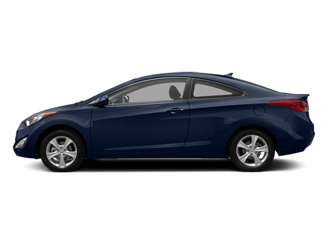 2013 Hyundai Elantra Coupe Prices and Values Coupe 2D GS side view