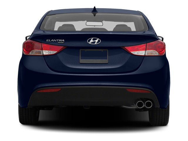 2013 Hyundai Elantra Coupe Prices and Values Coupe 2D GS rear view