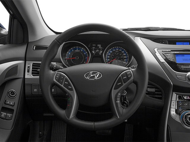 2013 Hyundai Elantra Coupe Prices and Values Coupe 2D GS driver's dashboard