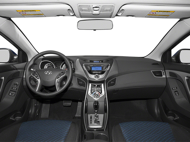 2013 Hyundai Elantra Coupe Prices and Values Coupe 2D GS full dashboard