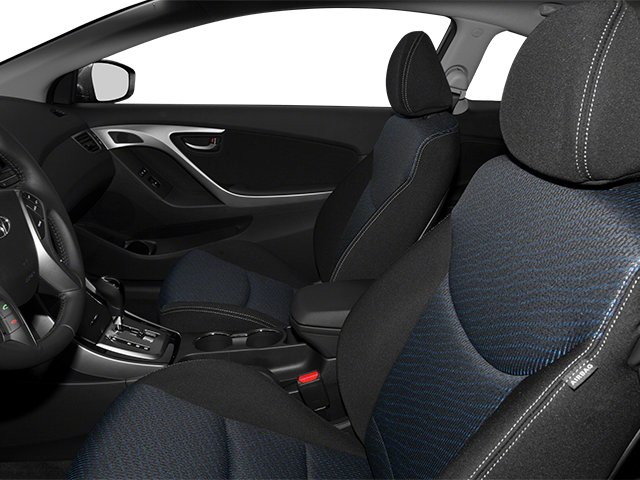 2013 Hyundai Elantra Coupe Prices and Values Coupe 2D GS front seat interior