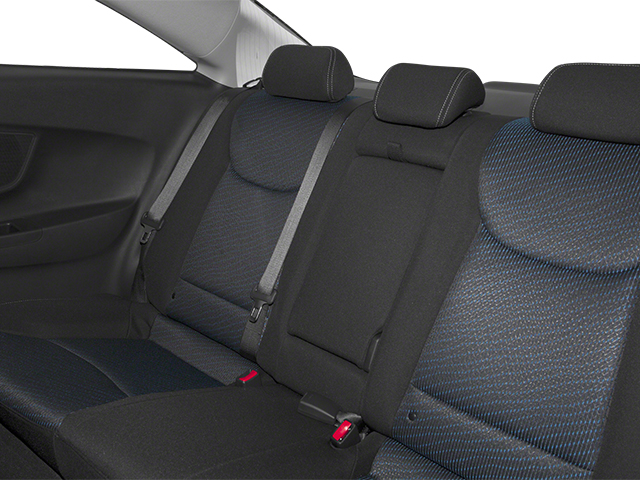 2013 Hyundai Elantra Coupe Prices and Values Coupe 2D GS backseat interior