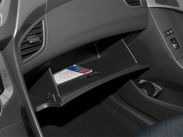 2013 Hyundai Elantra Coupe Prices and Values Coupe 2D GS glove box