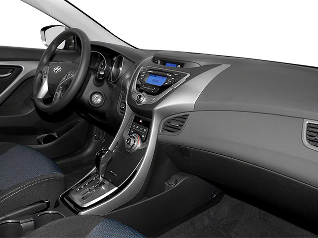 2013 Hyundai Elantra Coupe Prices and Values Coupe 2D GS passenger's dashboard