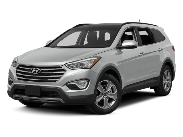2013 Hyundai Santa Fe Prices and Values Utility 4D GLS 4WD side front view