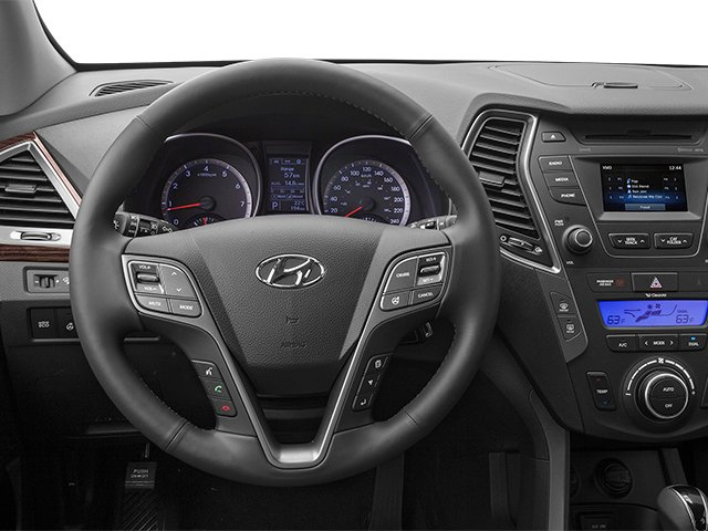 2013 Hyundai Santa Fe Prices and Values Utility 4D GLS 4WD driver's dashboard