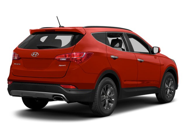 2013 Hyundai Santa Fe Prices and Values Utility 4D Sport w/Popular Pkg AWD side rear view