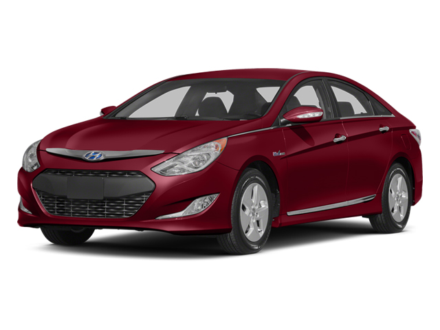 2013 Hyundai Sonata Hybrid Prices and Values Sedan 4D Limited Hybrid I4 side front view
