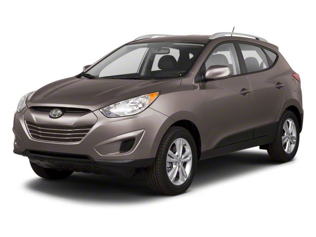 2013 Hyundai Tucson Prices and Values Utility 4D GLS 2WD side front view