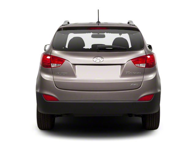 2013 Hyundai Tucson Prices and Values Utility 4D GLS 2WD rear view