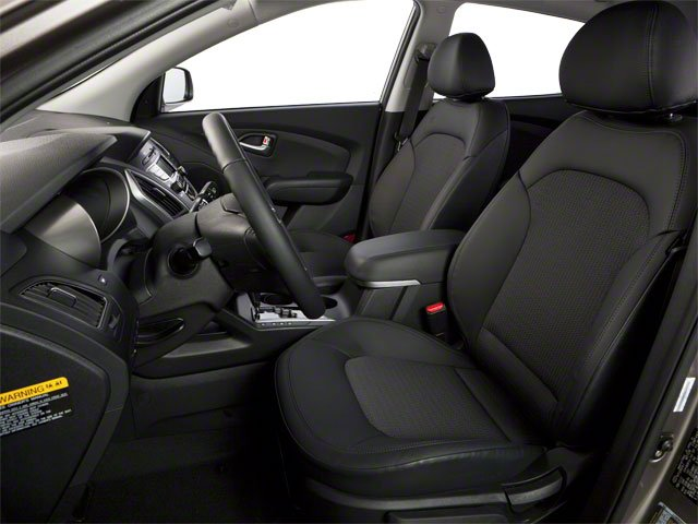2013 Hyundai Tucson Prices and Values Utility 4D GLS 2WD front seat interior