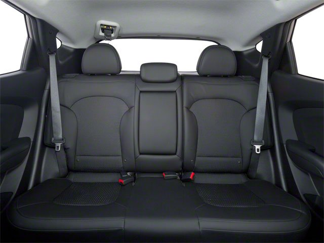 2013 Hyundai Tucson Prices and Values Utility 4D GLS 2WD backseat interior