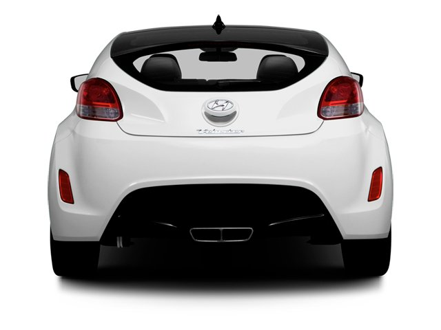 2013 Hyundai Veloster Prices and Values Coupe 3D rear view