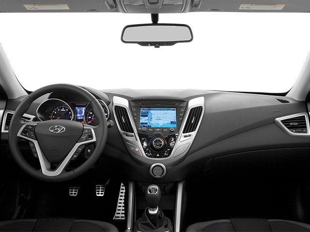 2013 Hyundai Veloster Prices and Values Coupe 3D full dashboard