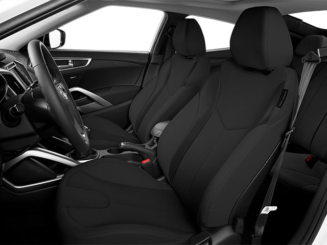 2013 Hyundai Veloster Prices and Values Coupe 3D front seat interior