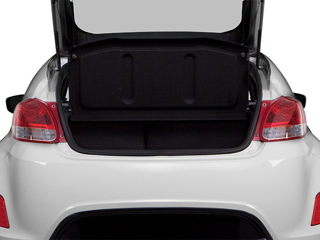 2013 Hyundai Veloster Prices and Values Coupe 3D open trunk