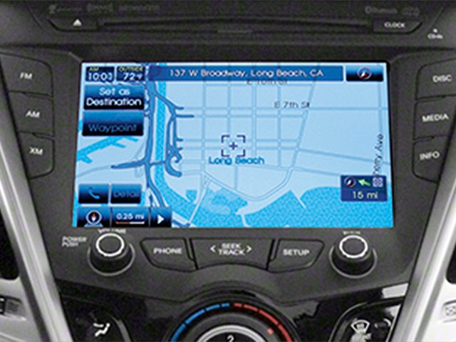 2013 Hyundai Veloster Prices and Values Coupe 3D navigation system