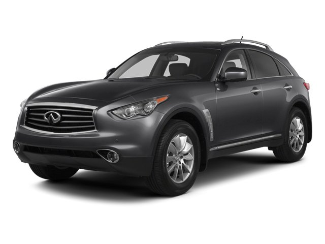 2013 INFINITI FX50 Prices and Values Utility 4D FX50 AWD V8 side front view