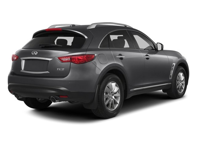 2013 INFINITI FX37 Prices and Values Utility 4D FX37 AWD V6 side rear view