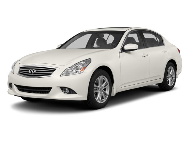 2013 INFINITI G37 Sedan Prices and Values Sedan 4D V6 side front view