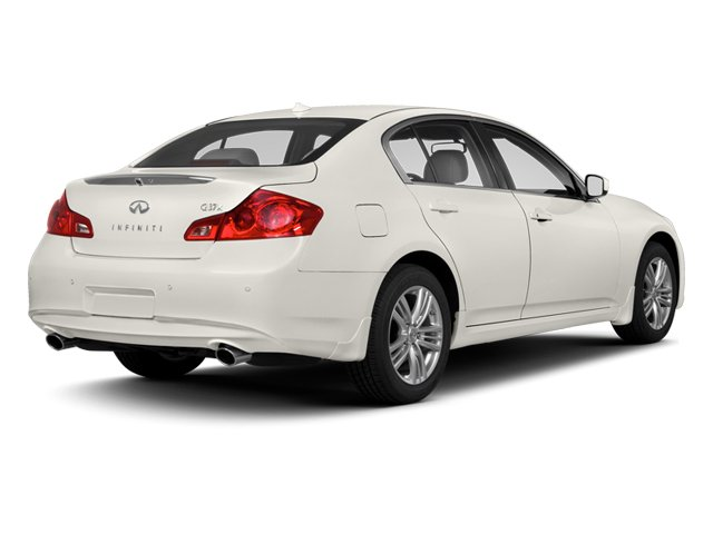 2013 INFINITI G37 Sedan Prices and Values Sedan 4D V6 side rear view